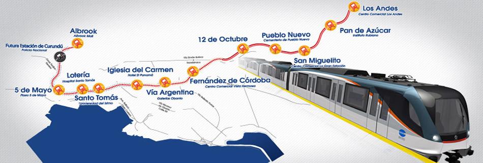 vivir en panama y el metro metro-de-panama-ruta-primera-linea3